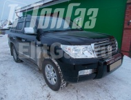ГБО на Toyota Land Cruiser 200  - Общий вид
